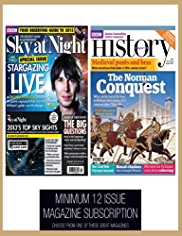 BBC Sky at Night & History - Magazine Gift Subscription