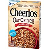 Cheerios Oat Crunch Cinnamon Cereal, 15.2 Ounce