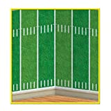 Beistle 52125 1-Pack Football Field Backdrop For Parties, 4-Feet By 30-Feet