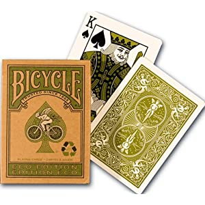 Click to buy Bicycle Eco Edition Playing Cardsfrom Amazon!