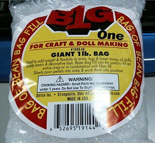 Bean Bag Fill Plastic Pellets - 5lbs