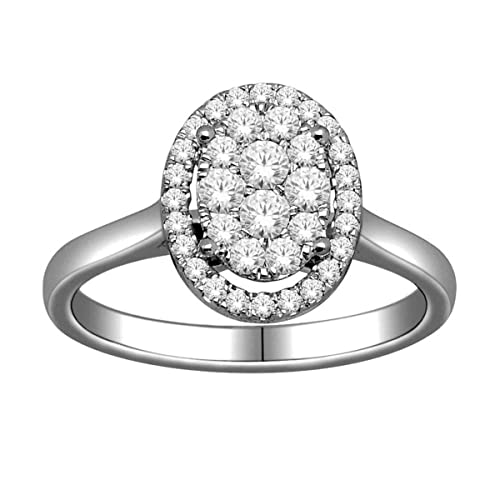 kandi burruss style oval composite ring engagement ring