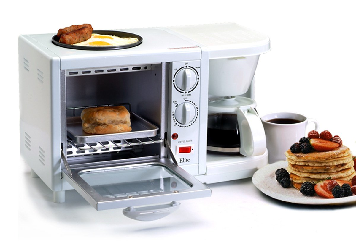 Starling travel all in one toasters tiny appliances for for Apartment size coffee maker