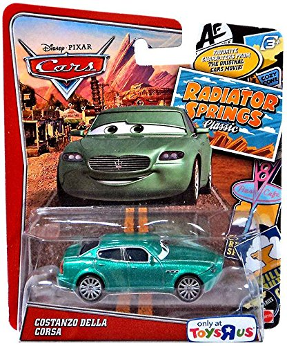 Disney/Pixar Cars, Exclusive Radiator Springs Classic Die-Cast, Costanzo Della Corsa, 1:55 Scale - 1