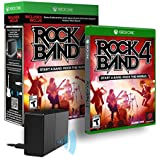 Mad Catz Rock Band 4 for Xbox One with Legacy Game Controller Adapter