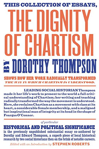 The Dignity Of Chartism  Harvard Book Store