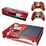 Brand New Vinyl Decals Fallout 4 Skin Sticker for Xbox One Game Console and 2 Controllers Skins Cover of ICE COLD Vault Boy Approved Designed