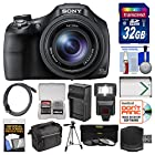 Sony Cyber-Shot DSC-HX400V Wi-Fi Digital Camera with 32GB Card + Case + Flash + Battery/Charger + Tripod + 3 Filters Kit