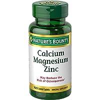 Nature's Bounty Calcium-Magnesiuim-Zinc , 100 Caplets