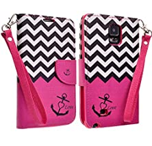 buy Samsung Galaxy Note 4 Hybrid Credit Card Holder Case + Utility+ Max Protection + Multi-Function+ Trendy+Stylish+Kickstand+ Shock Absorbing (Pk Anr)