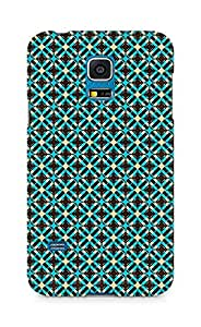 Amez designer printed 3d premium high quality back case cover for Samsung Galaxy S5 Mini (brown pattern)
