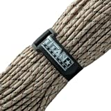 Titan Military 550 Paracord, with Official Fastener - Includes 2 FREE Paracord Project eBooks - This is the same Parachute Cord used by U.S. and Canadian Defense Forces - 100 FEET, NYLON, DESERT CAMO