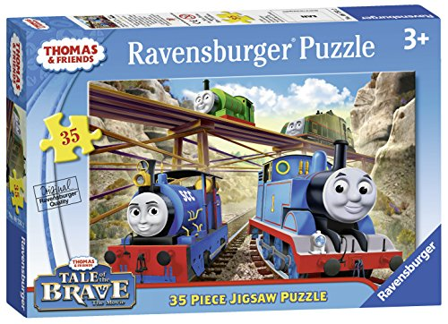 Ravensburger Thomas & Friends Tale of The Brave Puzzle (35 Piece) - 1