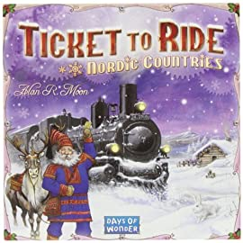 Days Of Wonder Ticket To Ride: Nordic Countries Board Game