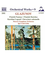 Glazunov: Finnish Fantasy / Finnish Sketches