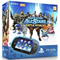 Console Playstation Vita Wifi + PlayStation All-Stars : Battle Royale Voucher + Carte m�moire 4 Go