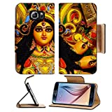 Flip Pu Leather Wallet Case Samsung Galaxy S6 MSD Premium Backplate Bumper Snap Case IMAGE ID: 5667887 Durga Puja Festival in Kolkata Bengal India
