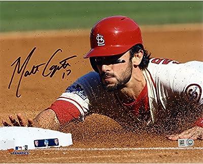"""Matt Carpenter St. Louis Cardinals Autographed 8"""" x 10"""" Sliding Photograph - Fanatics Authentic Certified"""