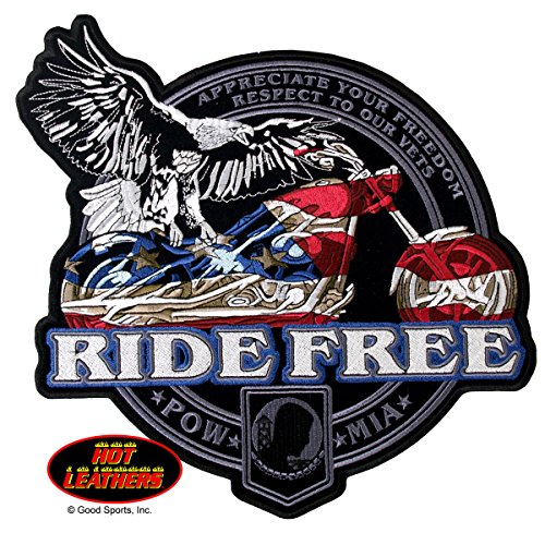 hot-leathers-usa-flag-bike-pow-mia-iron-on-saw-on-rayon-patch-5-x-5-exceptional-quality
