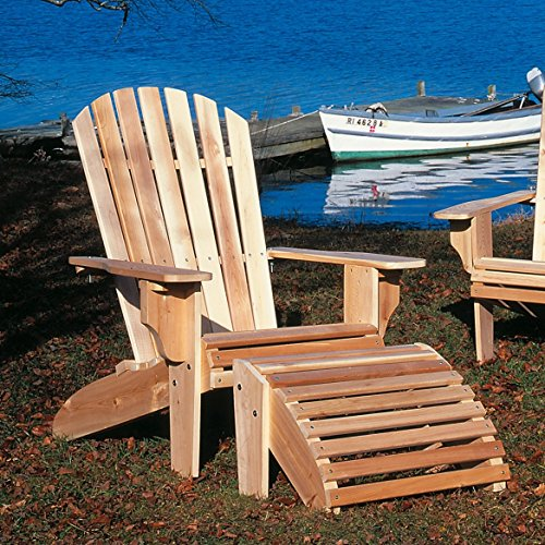 Oversized Adirondack Chair in Natural,Indoor