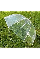 """46"""" ARC Dome/Bubble Auto Open Clear Umbrellas"""