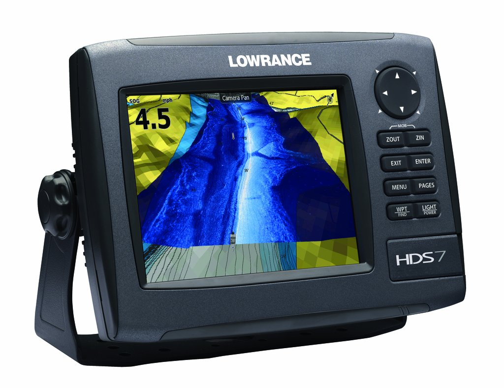 Lowrance HDS-7m GEN2 Plotter (No Sounder), with 6.4-inch LCD and Insight USA Cartography. lowrance hds 16 carbon