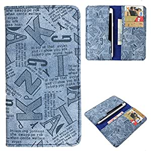 DooDa PU Leather Case Cover With Card Slots For INTEX AQUA 3G