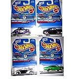 Hot Wheels 1999 Pinstripe Power Series Complete Set Of 4