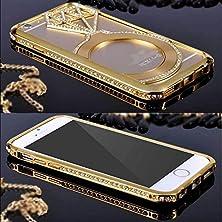 "buy Iphone 6 Plus/6S Plus Crystal Case,Jesiya Luxury Crystal Rhinestone Diamond Ring Bling Metal Case Cover Bumper For Iphone 6 Plus/6S Plus 5.5"""