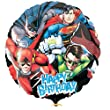 Justice League Balloon with Superman Batman and Friends birthday party supplies (MULTI, 1)