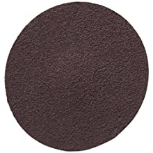 "3M  Roloc  Disc 361F, Cloth, TR Attachment, Aluminum Oxide, 3"" Diameter, 24 Grit (Pack of 50)"