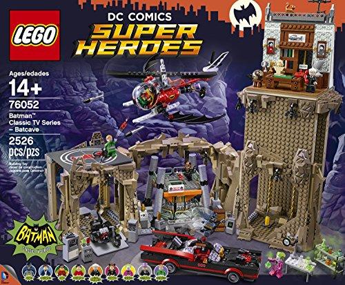 LEGO Super Heroes Batman Classic TV Series - Batcave 76052 at Gotham City Store