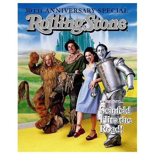 Rolling Stone Magazine May 28, 1998 Issue 787 Seinfeld Cast Cover