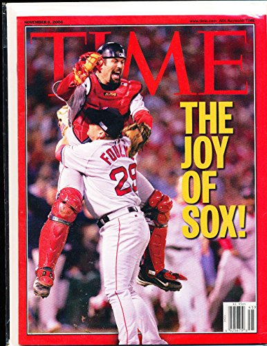 2004 11/4 Boston Red Sox World Series no label Time Magazine (2004 World Series Program compare prices)