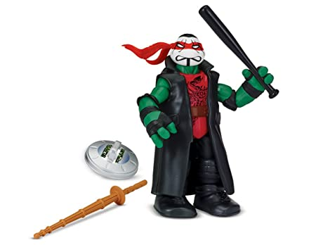 Teenage Mutant Ninja Turtles Tourtues WWE Mash Up Figurines D'Action Raph comme Queue