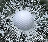 カー ステッカー おもしろ ビックリ めりこみ ボール (ゴルフボール)