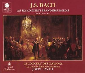 Johann Sebastian Bach: Les Six Concerts Brandebourgeois (The Six Brandenburg Concertos) - Le Concert des Nations / La Capella Reial de Catalunya / Jordi Savall