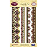 Justrite Stampers Clear Stamp Sets-Classic Lace Edges Two
