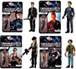 TERMINATOR 2 - Funko Reaction Series - Set of ALL 4 Figures