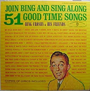 join bing sing along 51 good time songs music. Black Bedroom Furniture Sets. Home Design Ideas
