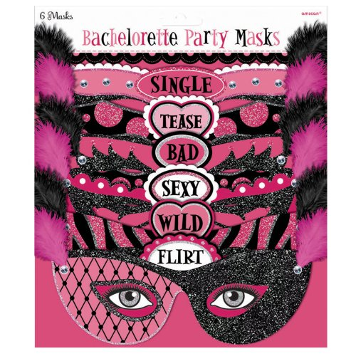 Bachelorette Party Masks 6ct