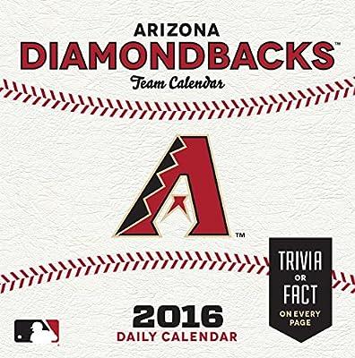 Turner Arizona Diamondbacks 2016 Box Calendar, January-December (8051394)