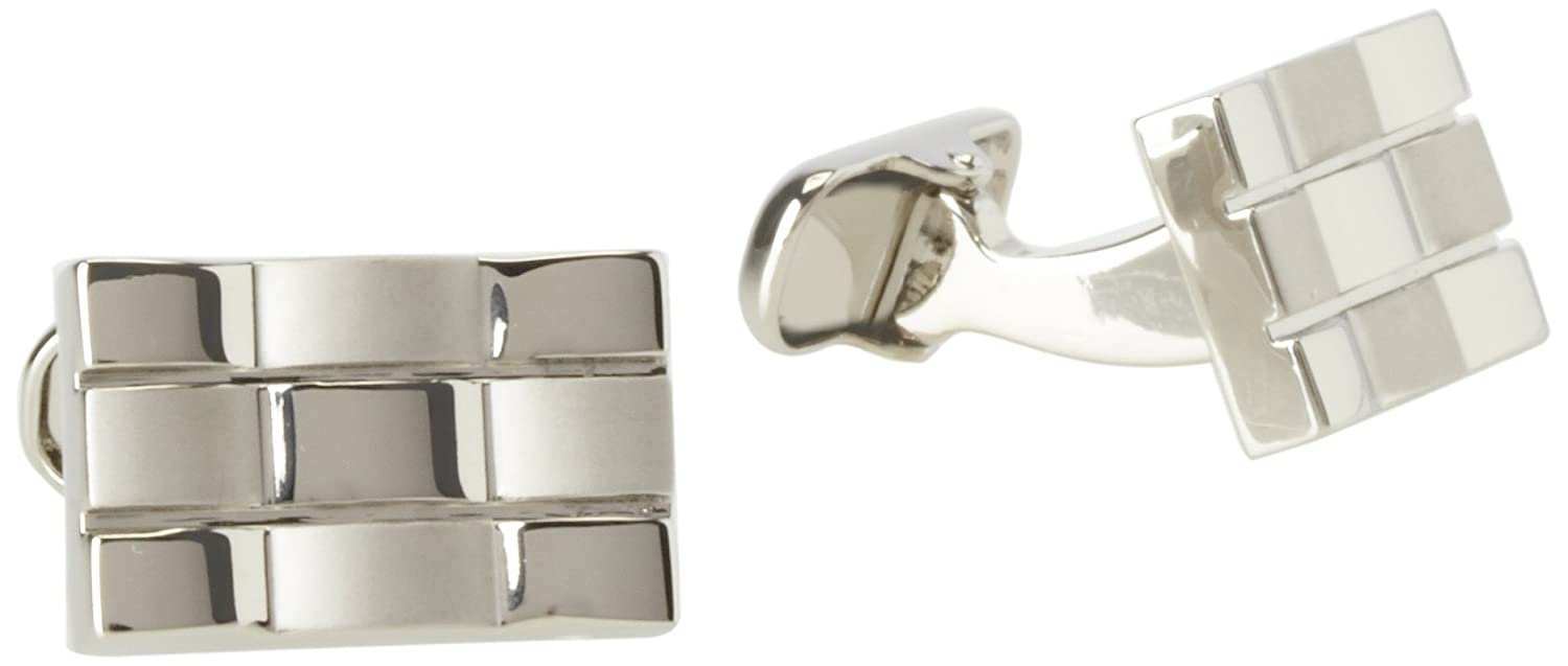 Donald Trump Men's Center Line Silver Tone