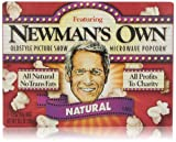 Newmans Own Natural Microwave Popcorn, 3 Count
