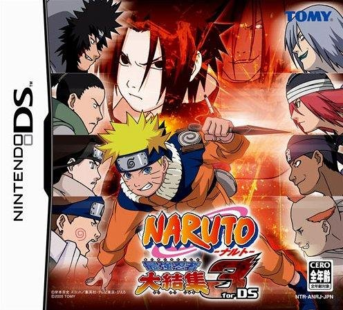 Naruto 3 Reunion of the Strongest Ninja (Japanese Version) Nintendo DS NDS w/ Free NDS Cover
