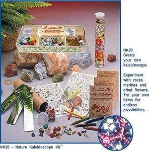 Kaleidoscope Kits, Make Your Own Kaleidoscope, Nature Kit By Gemini by Toysmith