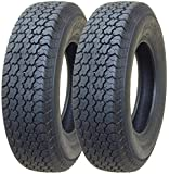2 New Trailer Tires ST 205/75D15 - 11057