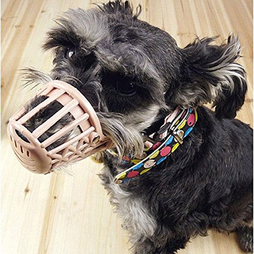 Plastic Basket Muzzle For Dogs front-1050124