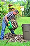 Oversize Leaf Scoops *Lifetime Guarantee* Gardening Xmas Gift - Superior Quality Multipurpose Hand Held Rakes, Ideal for Fast Leaf and Lawn Grass Removal - An Excellent Hand Held Helper, Perfect Trash Loaders and Collectors of Sharp Items. Get the Best Grabber Tools on Amazon Today!