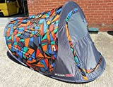 Gelert Quickpitch SS Tent - Acid Graphic Pop-up Festival Two Person